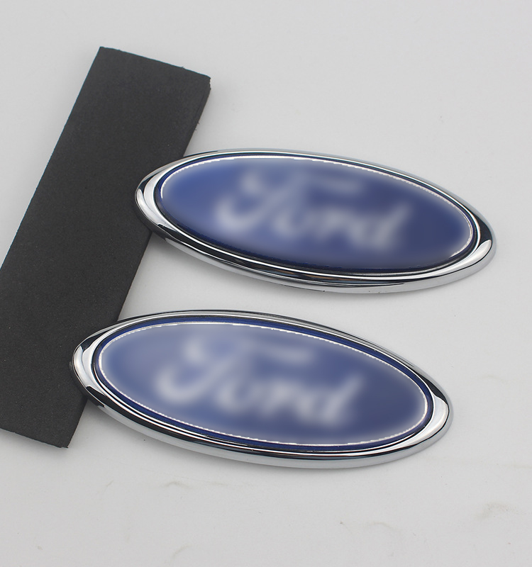 패션 새로운 프런트 선도 마크 전면 얼굴 그릴 자동차 앞면과 뒷면 표준 포드 로고 2 3 4 5 mk2 mk3 mk4 mk5 mk7 레인저