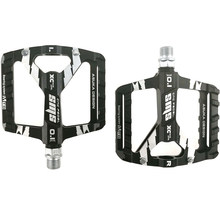 MTB Pedals Mountain Bike Pedal Bearing Aluminum Alloy Bike Pedals Non-Slip Lightweight Platform Bicycle Pedal for MTB BMX 9/16''