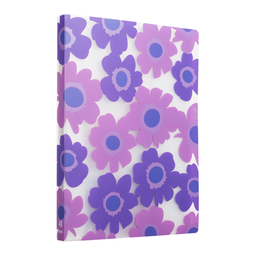 Comix A4 Display Book 40 Pockets Folders With Plastic Sleeves-A526
