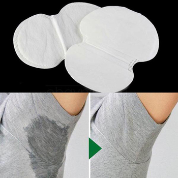 Summer Deodorants Cotton Pads Underarm Armpit Sweat Pads Disposable Stop Sweat Shield Guard Absorbing Anti Perspiration 1