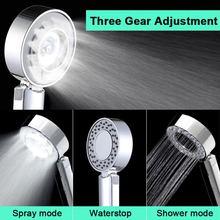 גבוהה לחץ מים חיסכון מקלחת ראש דו צדדי רב פונקציה כף יד מקלחת אמבטיה תרסיס מקלחת WB8450
