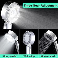 High Pressure Water Saving Shower Head Double sided Multi function Handheld Shower Spray Bath Showerhead WB8450