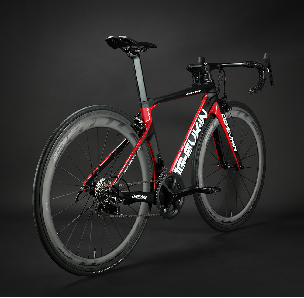 H9a21dbd73f484d97be5de59f2442fe2dS OG-EVKIN CB-024 Carbon Complete Road Racing Bike Bicycles Light Weight 22 Speed 700C BICICLETA Ciclismo With Shiman0 105