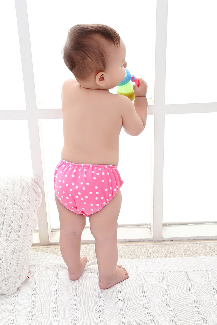 KID'S Swimwear Infant Men And Women Baby Towel Swimming Trunks Velcro Swimming Diaper Pants Paper Diaper Pants