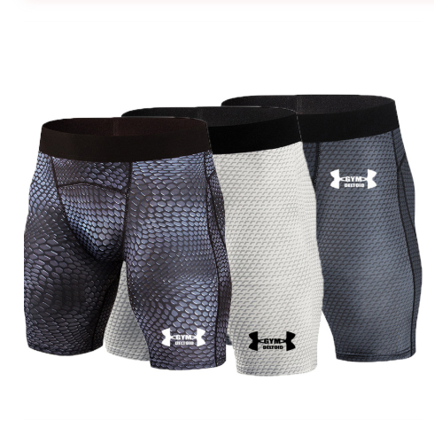 Men Brand Compression Short Running Tights Men's Quick Dry Gym Fitness Sport Leggings Running Shorts Male Sport Shorts