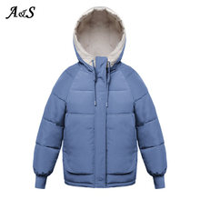 Anbenser 2020 короткая зимняя куртка модная Новая Женская пуховая