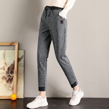 2019 New Spring Autumn Ladies Korean Harem Pants Breathable Thin Casual Pencil Simple Suit Trousers For Women