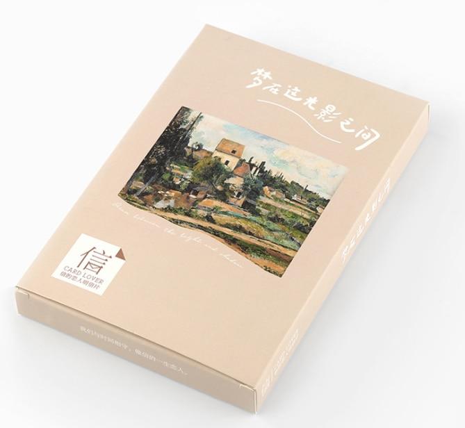 14.3cm*8cm Dream Landscape Paper Postcard(1pack=30pieces)