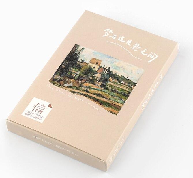 Dream Landscape Paper Postcard(1pack=30pieces)