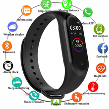 M4 Smart Watch Waterproof Wristband Blood Pressure Heart Rate Monitor Fitness Tracker Sport Bracelet 4 Watch for IOS Android цена