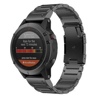 ANBEST 22mm Titanium Alloy Watch Band Strap Bracelet Compatible for Fenix 5/5 Plus/Fenix 6/6 Pro/Forerunner 935 - discount item  42% OFF Watches Accessories