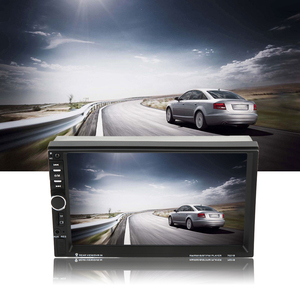 2 Din 7021B Bluetooth 7 Inch Screen Display Aux Input Auto Car DVD FM/MP5 Player Vehicle Rear View Camera Input
