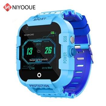 DF39 Kids Smart Watch 4G Sim Card Gps Wifi Lbs Tracker Watch Sos Call 1.4 Inch Camera Children Baby Tracking Clock Gift 2