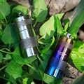 Su geçirmez titanyum hap kutusu kasa şişe önbellek İlaç tutucu konteyner anahtarlık ilaç kutusu sağlık 2 renk isteğe bağlı Ta6105