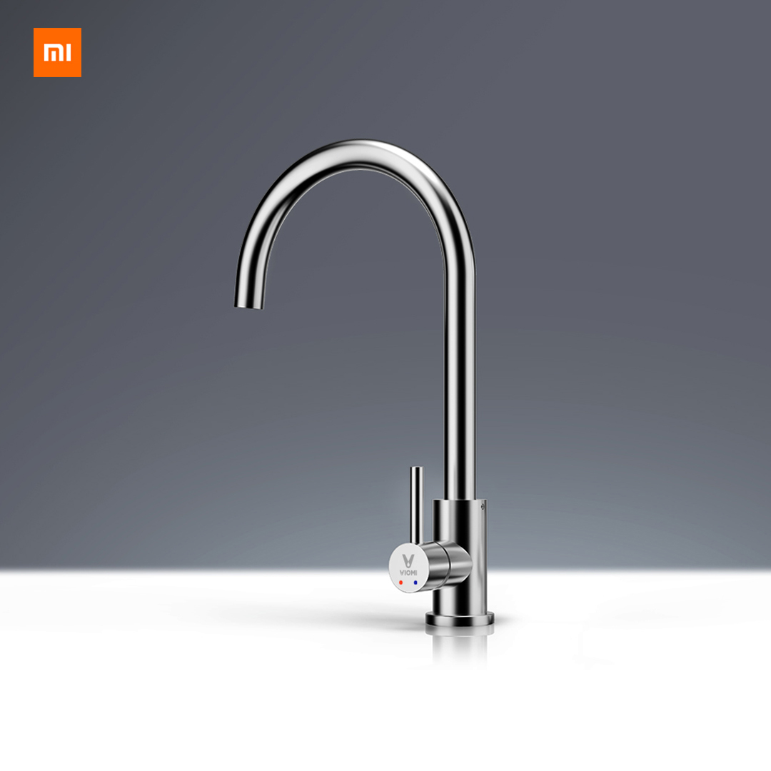 Xiaomi Youpin Yunmi Hot Stainless Steel Faucet Lead-free Healthy Living Water 304 Stainless Steel Hot And Cold Dual Control