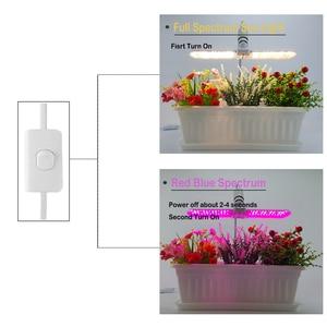 Image 4 - Grow lights,220V 75W 152LED folding 2 Mode,  Adjustable Gooseneck Sunlike Full Spectrum & Red/Blue Spectrum Plant Growing lights