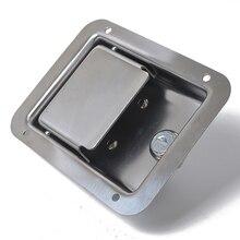 2xRV путешествия трейлер замок входная дверь ящик для инструментов ручка защелка из нержавеющей стали