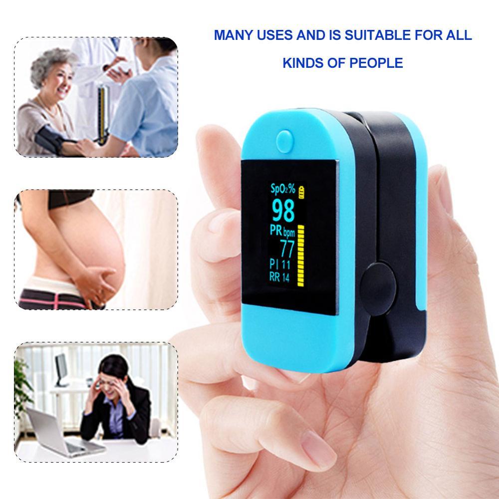Oled-дисплей медицинский Пальчиковый клипсовый Оксиметр Пульсоксиметр мониторинг пульса Пульсоксиметр