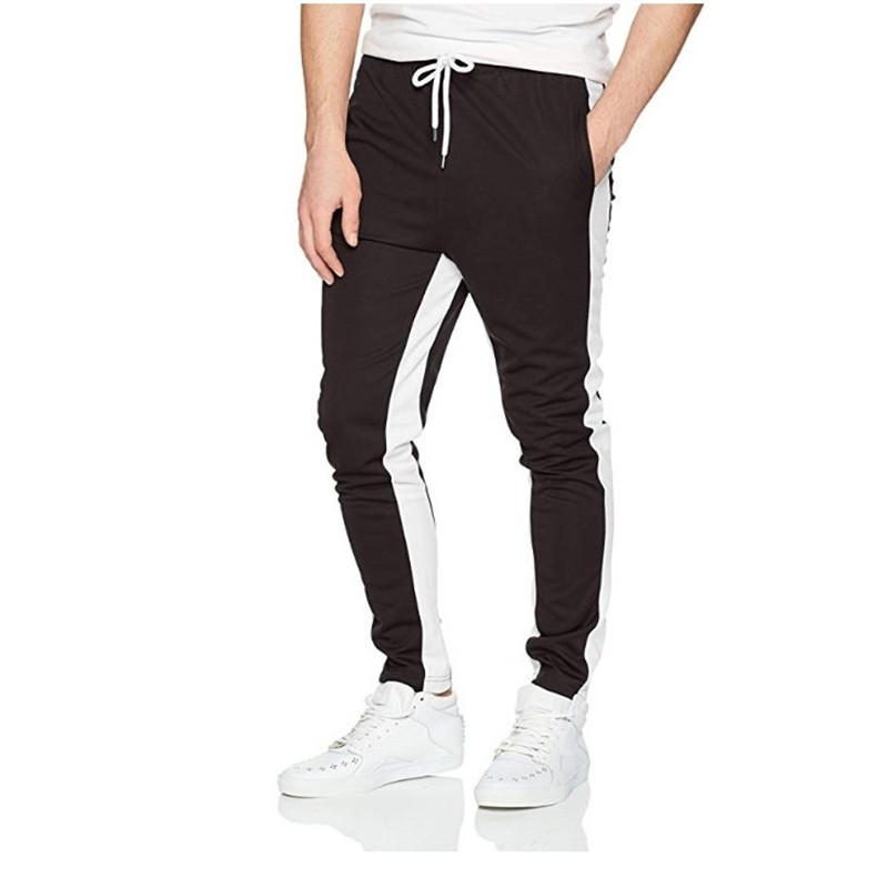 Patchwork Casual Loose Trousers with Pockets 【2019 New】 Mens Sweatpants,Drawstring Workout Jogging Pant