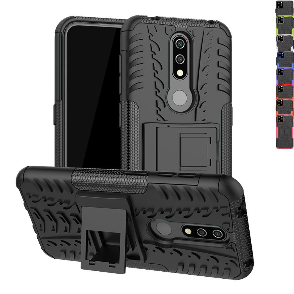 Sunjolly Case for <font><b>Nokia</b></font> <font><b>4.2</b></font> Case Nokia4.2 <font><b>Phone</b></font> Cover Shock Proof Hybrid Silicone + PC Cases fundas for <font><b>Nokia</b></font> <font><b>4.2</b></font> housing image