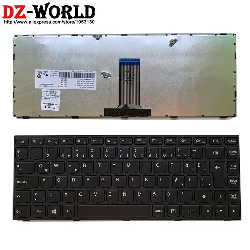 New For Lenovo B41-30 B41-35 B41-80 Brazil Portuguese Keyboard Black