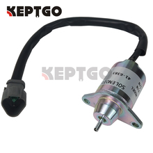 Fuel Shut Off Shutdown Solenoid Replaces 12V For Yanmar Thermo King TK 41-6383 NEW 1503ES-12S5SUC11S цена в Москве и Питере