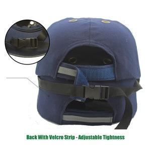 Image 3 - 新作安全バンプキャップヘルメット野球帽子スタイルの保護、作業現場ため摩耗ヘッド保護