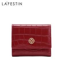 LA FESTIN 2020 new fashion short women wallet with coin pocket card holder