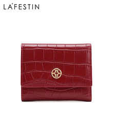 LA FESTIN 2020ใหม่แฟชั่นผู้หญิงสั้นกระเป๋าสตางค์เหรียญ