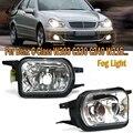 PMFC туман светильник левый и правый бампер дальнего света противотуманная фара без лампы для Benz W203 C230 C240 C320 C350 W215 CL500 CL600 W209 2158200656