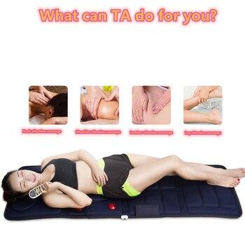 Massage cushion, neck, shoulder, back and waist multi-functional mattress shaker