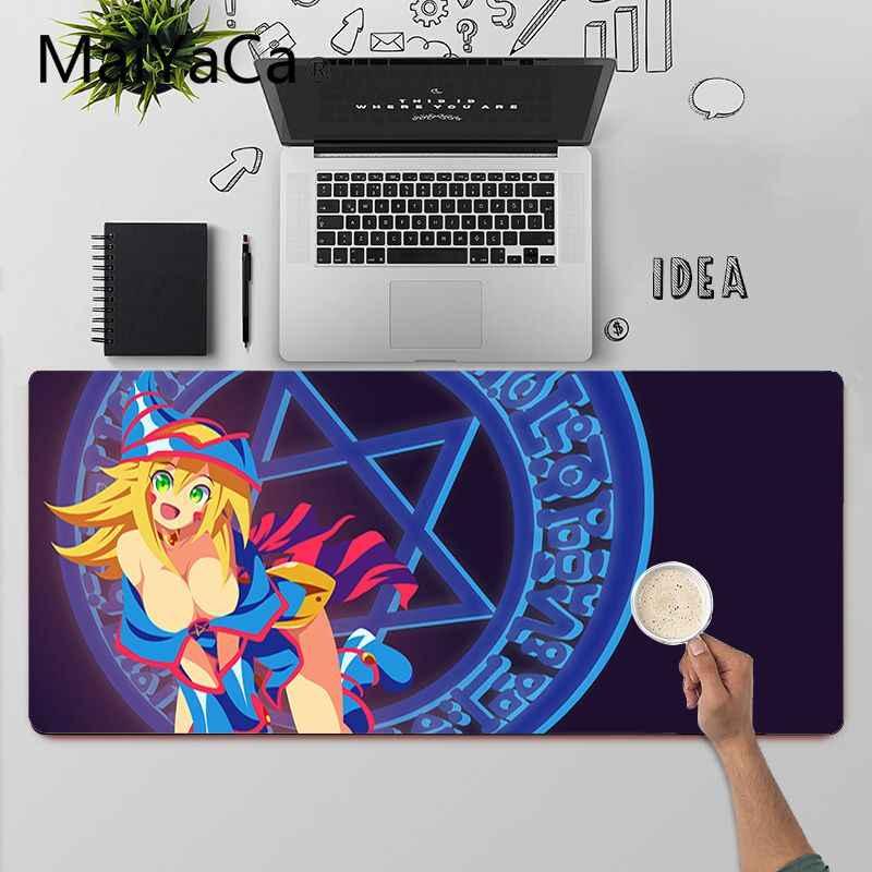 Anime Girl Yu-Gi-Oh Mouse Pad Dark Magician Girl Keyboard Desk Gaming Play Mat