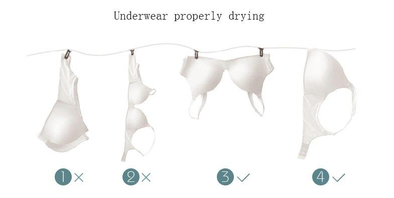 Correct drying method