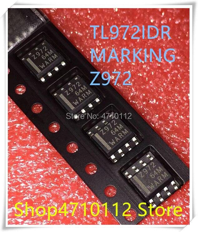 NEW 10PCS/LOT TL972IDR TL972ID TL972 MARKING 972 Z972 SOP-8 IC