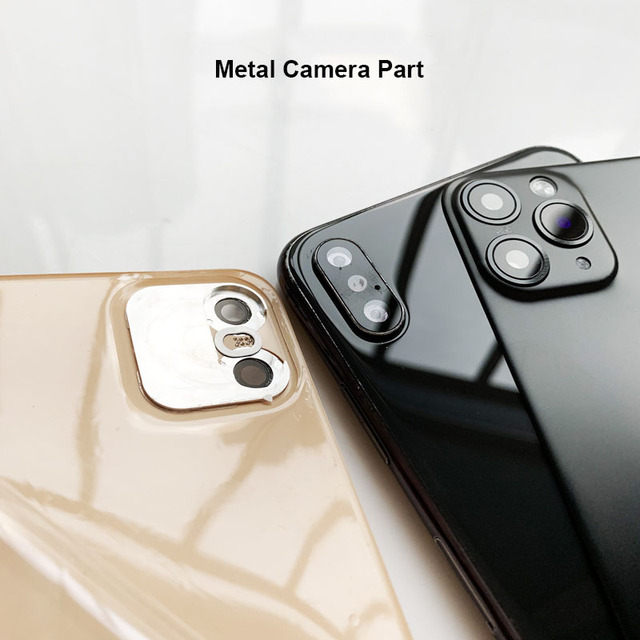 Vip Link for X XS Seconds Change 11 PRO MAX Lens Sticker Back Protector Film Modified Camera Cover Titanium Alloy Case
