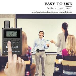 Image 4 - Retekess TT105 2.4GHz אלחוטי משדר מיקרופון סוס רכיבה תקשורת עבור סיור מדריך מערכת מוזיאון הכנסייה תרגום מערכת