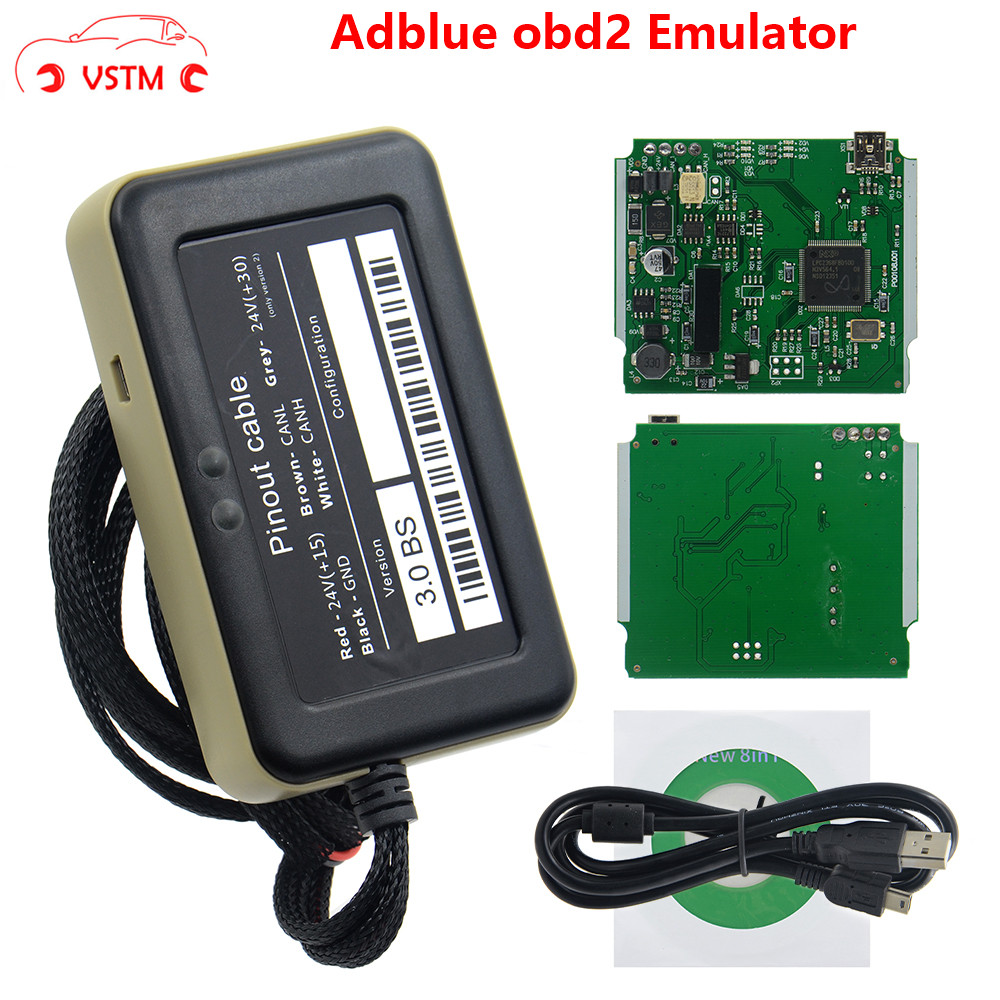 Emulator Truck-Diagnostic-Tool Nox-Sensor Adblue V3.0 with 8-In-1 title=