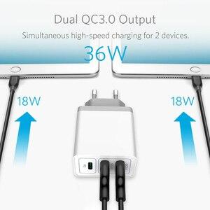 Image 4 - Multi USB PD Ladegerät Schnell Ladung 3,0 Schnelle Handy ladegerät Für iPhone 11 3,0 PD Power Ladegerät Für Samsung Note 10 Redmi Hinweis 8 Pro