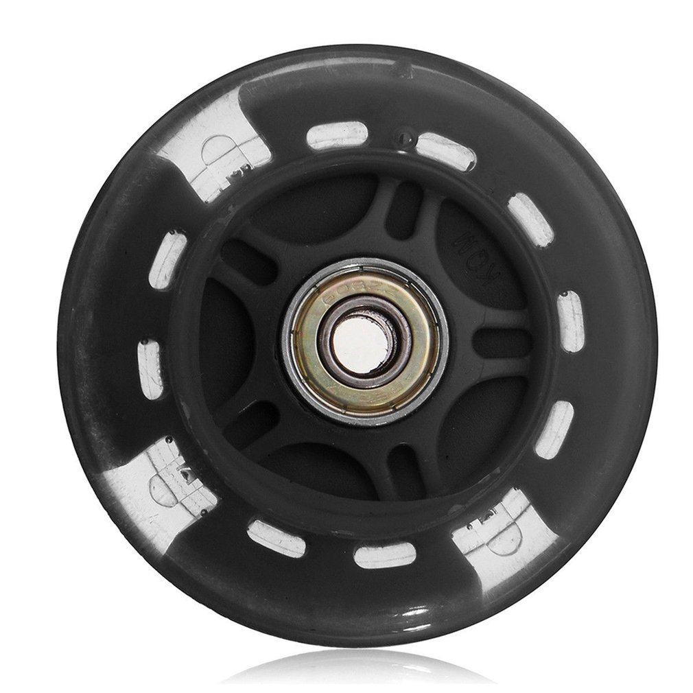 80mm 100mm 120mm Scooter Wheel LED Flash Light Up Scooter Wheel for Scooter Bearings with 5 Colors