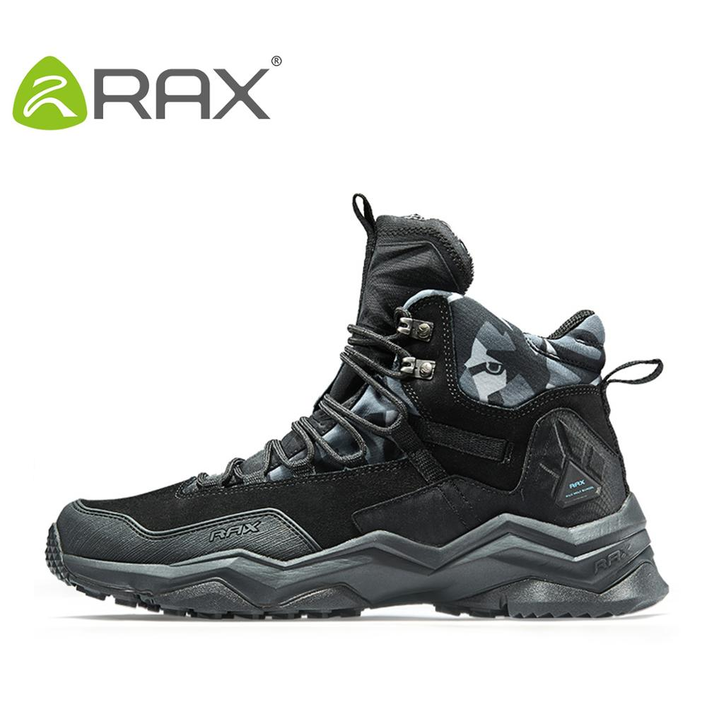 RAX 2020 Waterproof Hiking Shoes For Men Winter Hiking Boots Men Outdoor Boots Climbing Walking Mountaineering Trekking Shoes
