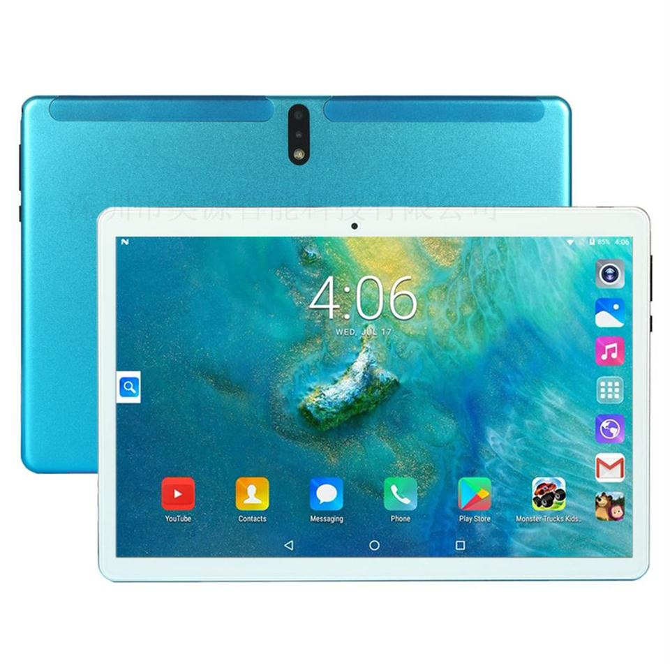 10.1 Inch Android 9.0 Tablet 4G Lte Support Split-screen Multitasking Dual Sim Card Tablet 10 128GB Rom 13mp Camera
