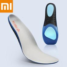 Xiaomi Mijia FREETIE Stoßdämpfer Sport Einlegesohle Grau Stoßdämpfer Springback Dreh Unterstützung Polyester Faser Einlegesohle
