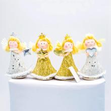 HUIRAN Christmas Cute Angel Doll Pendant Merry Tree Decorations for Home 2019 Ornaments Gift New Year Natal