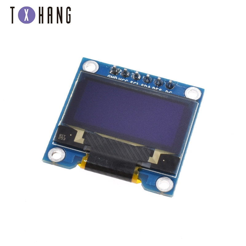 0.96 Inch SPI OLED Display Module White Blue Color 128X64 OLED 6Pin Yellow Blue Color Driver Chip SSD1306 For Arduino DIY KIT