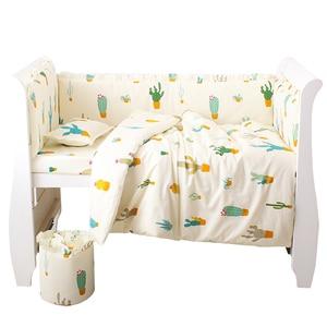 Image 5 - 6 sztuk/zestaw niebieski wszechświat projekt pościel do łóżeczka zestaw bawełna maluch łóżeczko dla dziecka pościel obejmują łóżeczko dla dziecka zderzaki prześcieradło poszewka
