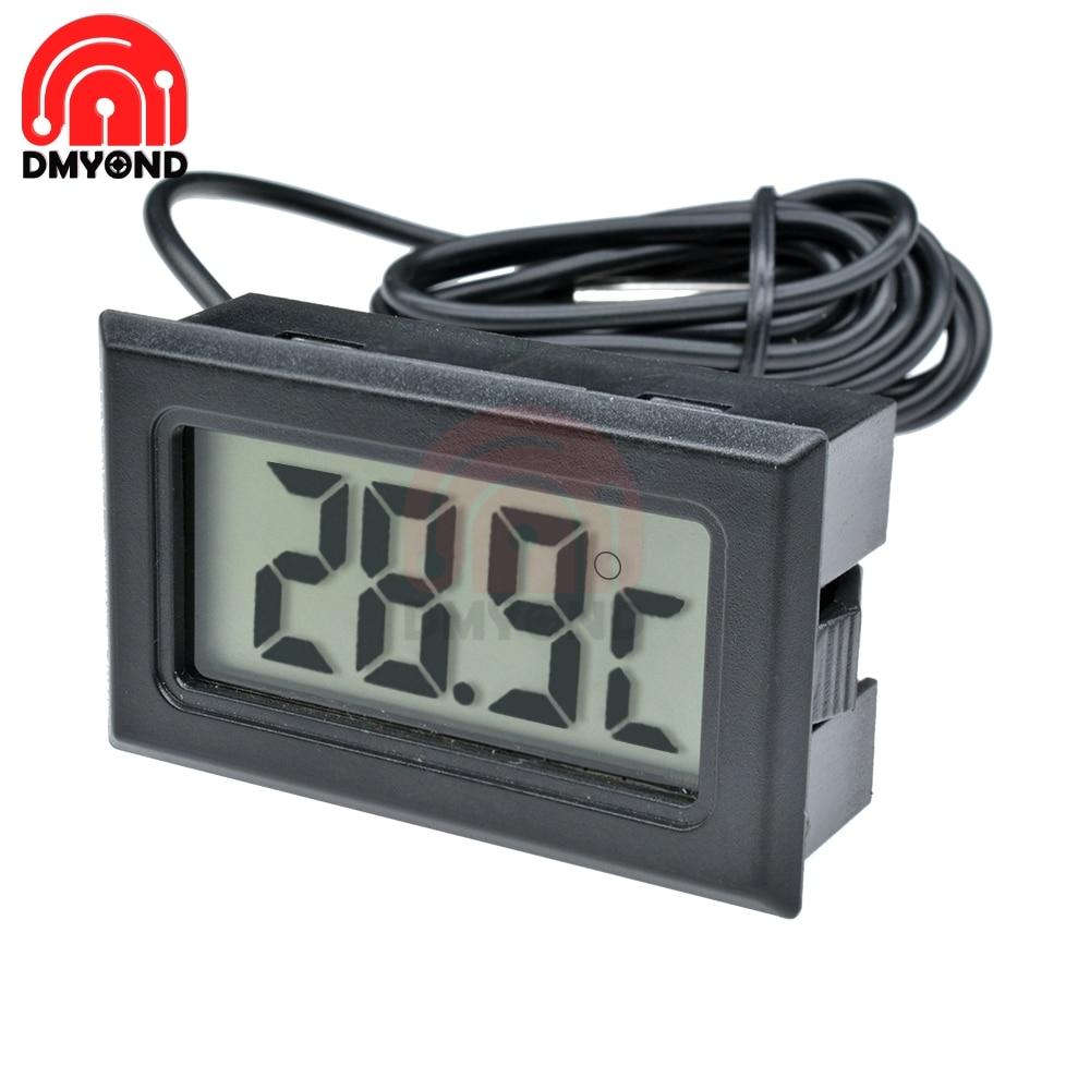 Digital LCD Kitchen Freezer Fridge Refrigerator Electronic Thermometer Sensor