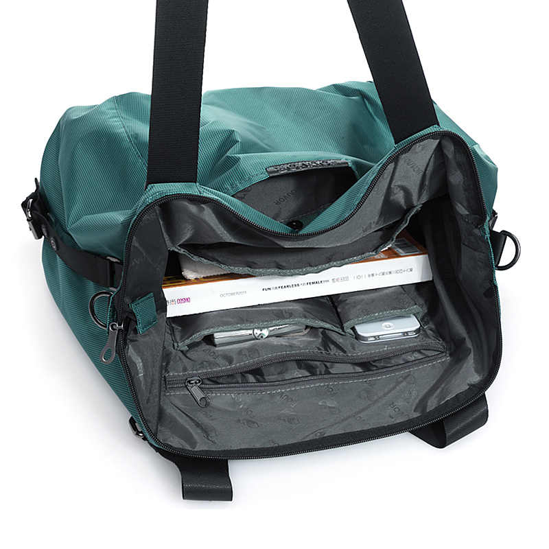 Fouvor, bolso de mano Oxford para mujeres, bolso de lona de Nylon de gran capacidad para mujeres, bolso de viaje coreano femenino, bolso de hombro Casual 2532-04