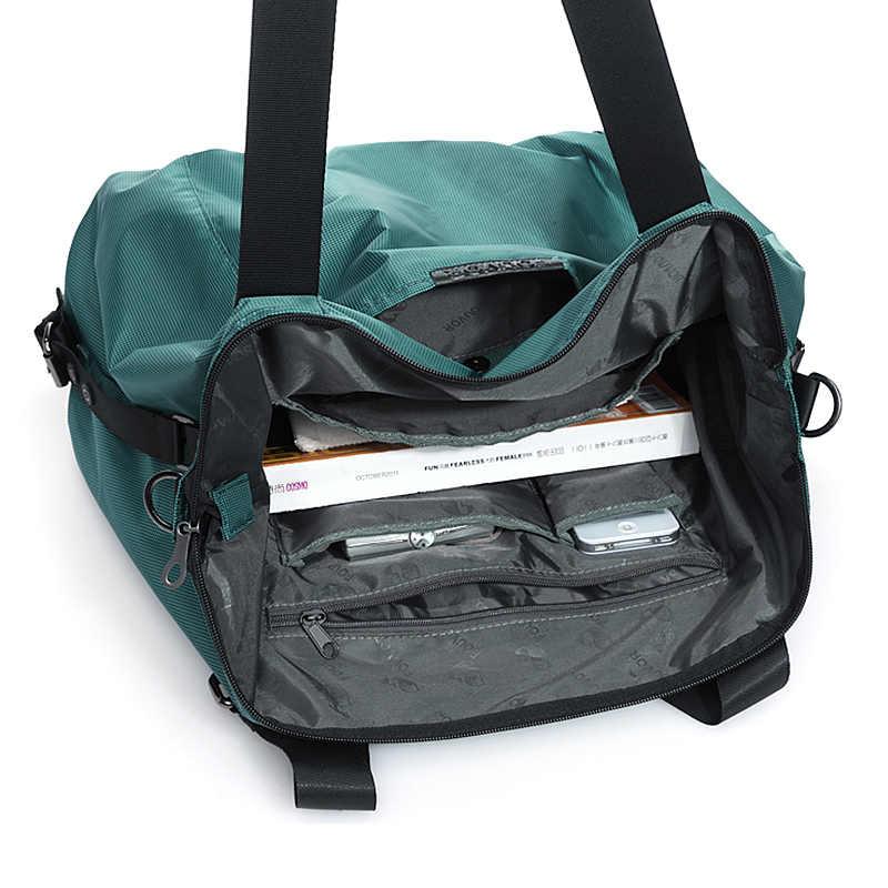 Fouvor, женская сумка Оксфорд, нейлон, большая вместительность, для девушек, для путешествий, Холщовая Сумка, Корейская, женская, дорожная, повседневная, сумка на плечо, 2532-04