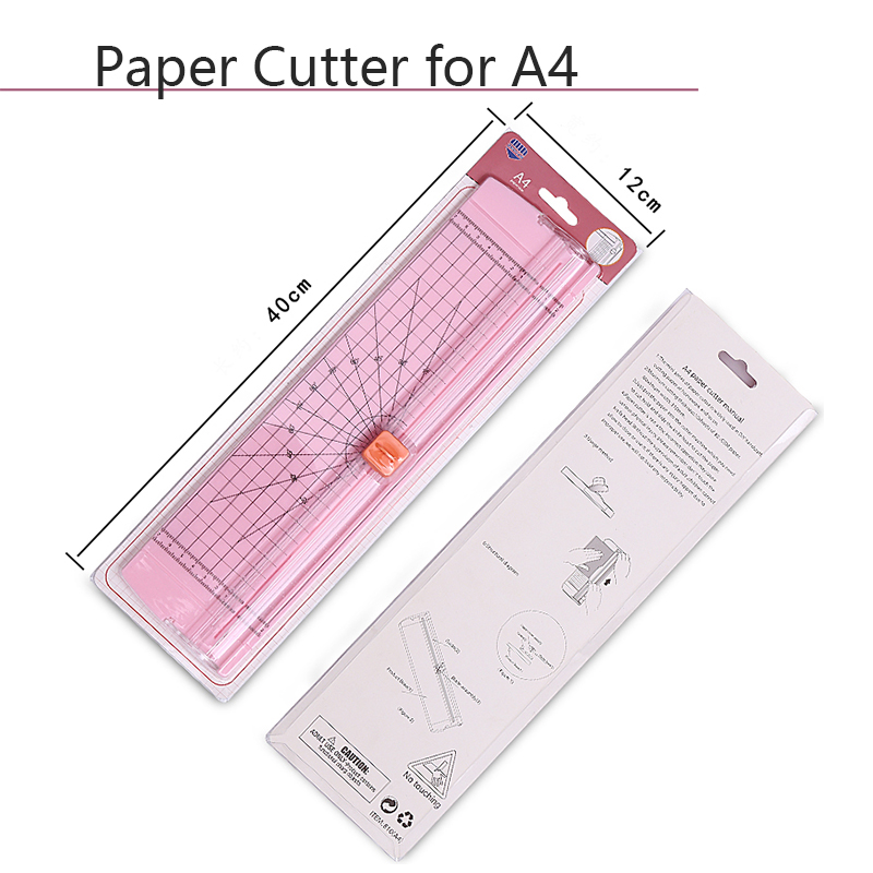Precision Paper Cutter Cutting Mats For A4 Paper ABS Portable Paper Photo Trimmers Cut Machine Scrapbooking For Office School