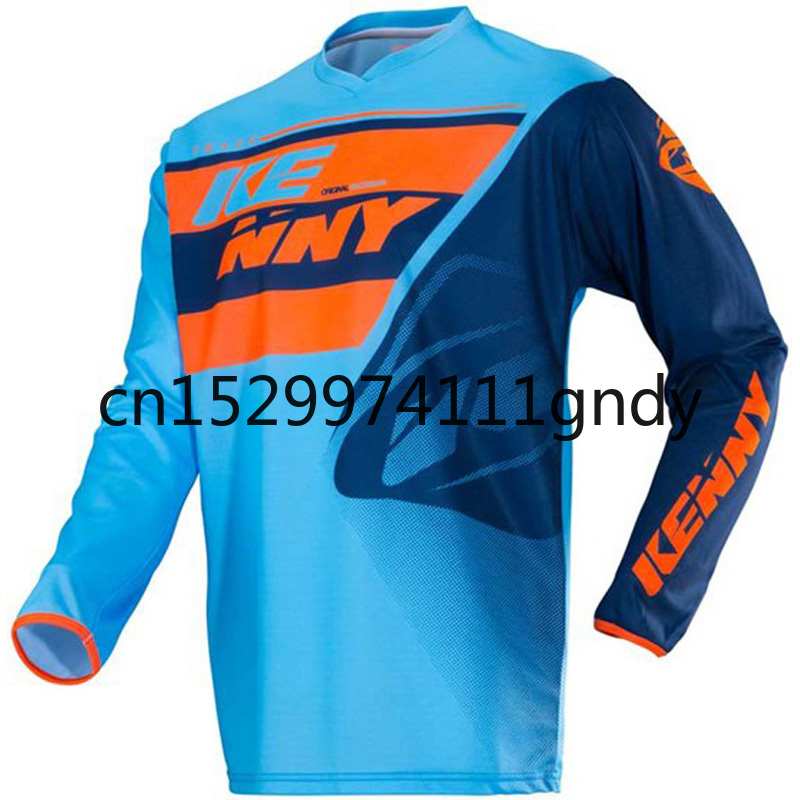 2020 New Kenny Motocross Jersey Race Ride Maglia Cycle Shirt  Man Clothing Cross Xxxl Gp Breathable Clothes Long
